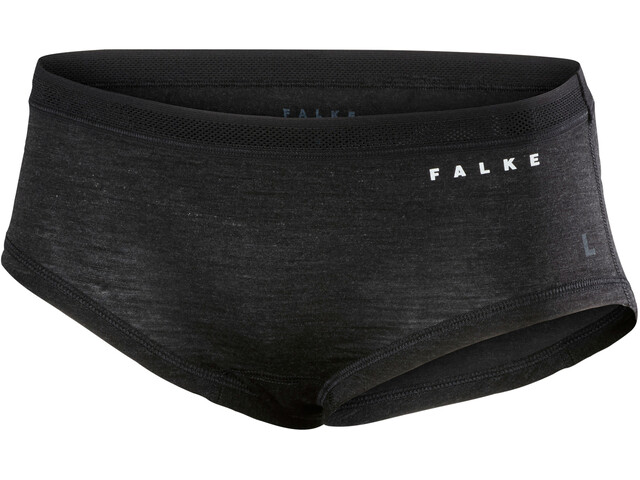 Falke Silk-Wool Panty Women anthracite melange